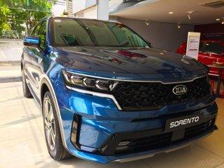 Kia Sorento all new 2021 GAT 7s xanh, hỗ trợ trả góp lên đến 80%