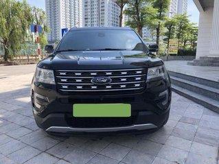 Cần bán lại xe Ford Explorer Limited sản xuất năm 2017, màu đen còn mới