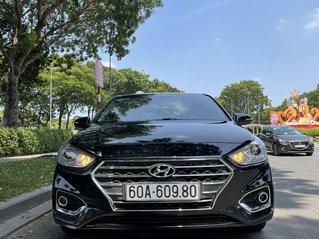 Bán xe Hyundai Accent 2019 AT màu đen biển tỉnh xe chạy GD không DV