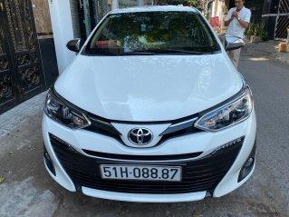 Mới về Toyota Vios sản xuất 2019 1.5G trắng ngọc trinh. Biển thành phố số đẹp
