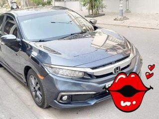 Cần bán gấp Honda Civic G năm sản xuất 2019, màu xanh đen như mới, 1 đời chủ, odo lướt