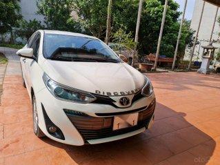 Bán xe Toyota Vios bản G full sản xuất năm 2018, màu trắng, đẹp như mới