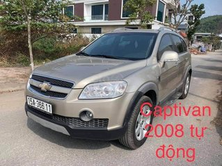 Cần bán ô tô Chevrolet Captiva sản xuất 2008, màu vàng cát, zin đẹp, giá siêu tốt