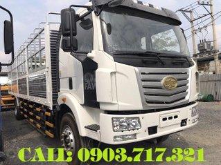 Bán xe 7T25 Euro 4 mới 2021, xe tải Faw 7T25 * 7250kg thùng mui bạt dài 9m7