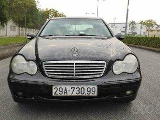 Cần bán nhanh Mercedes C200 sản xuất năm 2002, màu đen, giá thấp