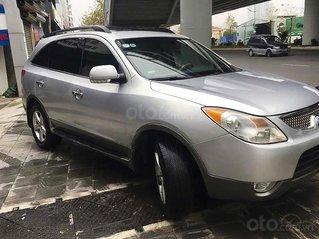 Bán Hyundai Veracruz 3.8 V6 sản xuất năm 2008, màu bạc, xe nhập, 450tr