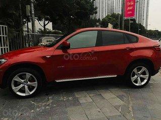 Xe BMW X6 sản xuất năm 2008, màu đỏ, nhập khẩu còn mới, 720tr