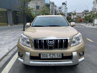 Xe Toyota Prado năm sản xuất 2010, màu vàng, nhập khẩu