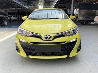 Cần bán lại xe Toyota Yaris G sản xuất 2019, màu vàng