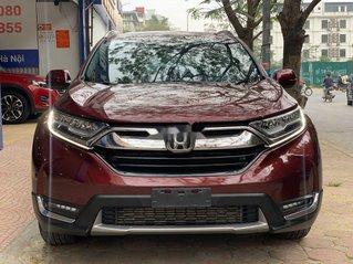 Cần bán gấp Honda CR V sản xuất năm 2018, màu đỏ, nhập khẩu