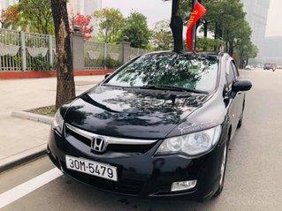 Bán gấp với giá ưu đãi nhất chiếc Honda Civic 1.8 sx 2007, xe màu đen biển Hà Nội