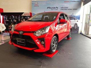 Toyota Wigo 1.2AT sản xuất 2021 trả trước 130 triệu nhận xe