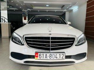 Bán C200 Exclusive 2020, xe đi 12.000km, màu trắng, bao check hãng