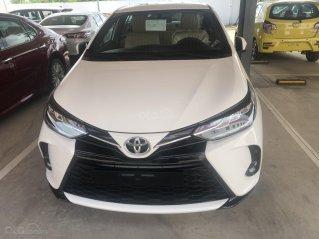 Bán xe Toyota Yaris1.5 G sản xuất năm 2021 - màu trắng giao ngay