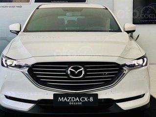 Mazda CX8 Deluxe ưu đãi 200tr tặng gói phụ kiện 50tr