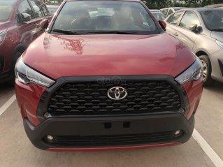 Bán ô tô Toyota Corolla Cross 1.8G năm sản xuất 2021 - màu đỏ giao ngay