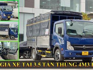 Bán xe tải Nissan 3,5 tấn thùng dài 4m3 Inox động cơ Nissan