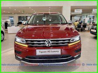 [VW Trường Chinh] Giảm trước bạ 100% Tiguan Luxury màu đỏ tháng 3/2021, luôn có sẵn nhiều xe, nhiều màu giao ngay