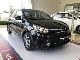 Cần bán xe Kia Soluto AT Deluxe sản xuất 2021, màu đen, giá 429tr