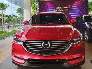 Mazda CX8 giảm tiền mặt kèm quà tặng mới nhất 2021