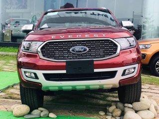 Xe Ford Everest Titanium 2.0L 4x2 AT 2021, giá sốc