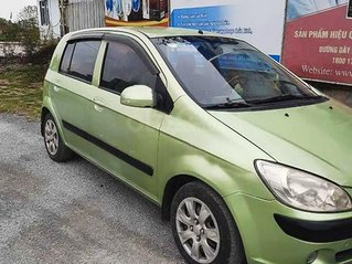 Bán Hyundai Getz sản xuất 2008, màu xanh lục, giá thấp