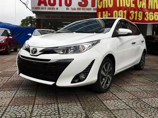 Bán Toyota Yaris 1.5G năm sản xuất 2019, màu trắng, nhập khẩu