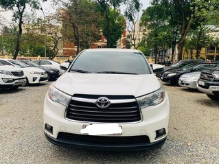 Toyota Hightlander trắng nhập khẩu 2016 chính chủ