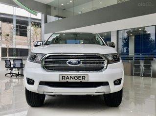 Áo trắng có làm anh lo lắng Ford Ranger Limited 4x4 AT 2.0L