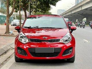 Bán ô tô Kia Rio hatchback đời 2013, màu đỏ, nhập khẩu nguyên chiếc