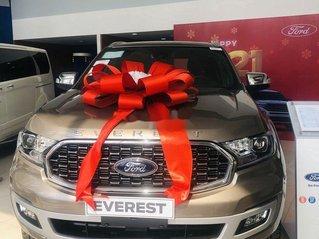 Bán ô tô Ford Everest Titanium sản xuất 2020, màu ghi vàng