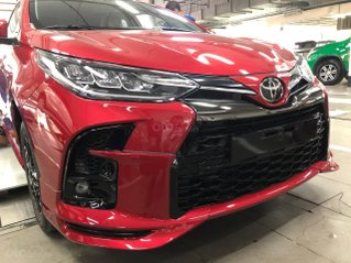 Toyota Vios 1.5 G RS thể thao màu đỏ giao ngay
