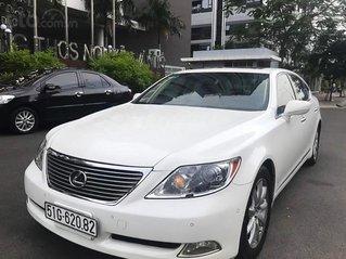 Cần bán xe Lexus LS 460L sản xuất 2007, màu trắng, xe nhập, 900 triệu