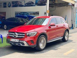 Bán xe Mercedes Benz GLC 200 đỏ/kem, đăng kí lần đầu 2020, bản mới