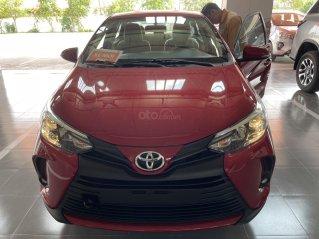 Bán Toyota Vios 1.5E CVT năm sản xuất 2021, màu đỏ giao ngay