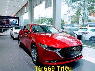 [ Mazda Gò Vấp - HCM ] All New Mazda 3 -2021 - Tặng BHVC, hỗ trợ vay 80%, xe có sẵn