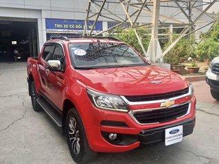 Bán Chevrolet Colorado 2017, màu đỏ, nhập khẩu
