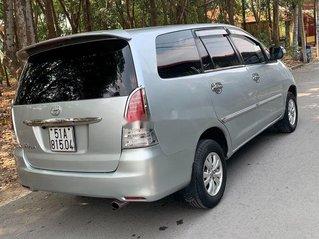 Cần bán lại xe Toyota Innova sản xuất 2007, màu bạc, nhập khẩu, giá 235tr