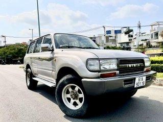 Bán Toyota Land Cruiser năm sản xuất 1993, màu bạc, nhập khẩu nguyên chiếc số sàn giá cạnh tranh