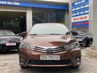 Bán ô tô Toyota Corolla Altis đăng ký 2015, màu nâu, chính chủ, giá chỉ 589 triệu đồng