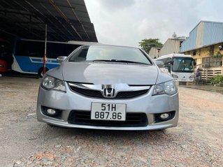 Bán Honda Civic năm 2010, màu bạc còn mới, 357tr
