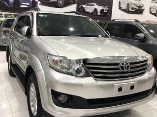 Cần bán lại xe Toyota Fortuner đời 2014, màu bạc