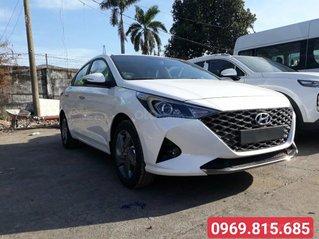 Bán xe Hyundai Accent sản xuất 2021, màu trắng, 436 triệu