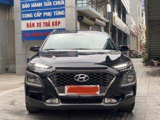 Xe Hyundai Kona 1.6 Turbo đời 2018, màu đen, ít sử dụng, giá 705 triệu đồng