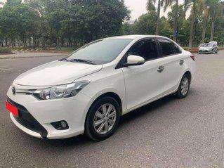 Bán Toyota Vios 1.5E MT năm 2018, màu trắng, 383 triệu