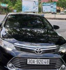 Bán ô tô Toyota Camry 2.0E sản xuất năm 2016, màu đen, giá tốt
