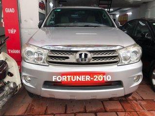 Cần bán lại xe Toyota Fortuner sản xuất năm 2010, màu bạc, giá tốt