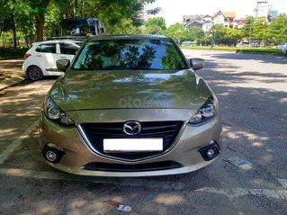 Cần bán Mazda 3 2016 bản 1.5AT màu vàng cát