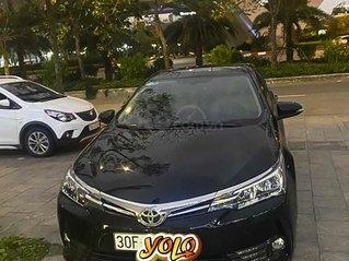 Cần bán lại xe Toyota Corolla Altis 1.8G AT sản xuất năm 2019, màu đen, 730tr