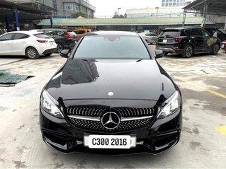 Cần bán Mercedes C300 đời 2016, màu đen